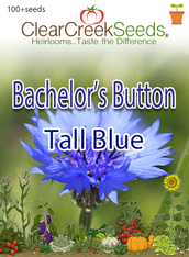 "Bachelor Button ""Tall Blue""(100+ seeds)"