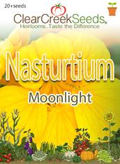 "Nasturtium - ""Moonlight"" (20+ seeds)"