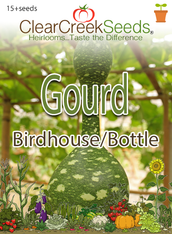 Gourd - Birdhouse / Bottle (15+ seeds)