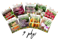 Root Crop Variety Pack (9 pkgs)