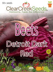 Beets - Detroit Dark Red (50+ seeds)