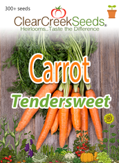 Carrot - Tendersweet (300+ seeds)