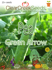 Pea Shelling - Green Arrow (25+ seeds)