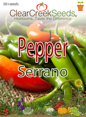 Pepper Hot - Serrano (50+ seeds)
