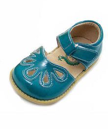Livie and Luca - Turquoise Petal Shoes