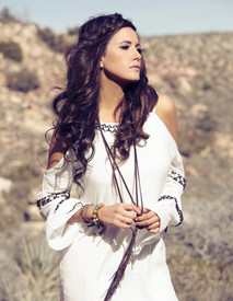 Union of Angels Taupe Verena Dress