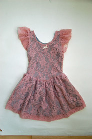 Girl and a Mouse - Pink Skater Dress