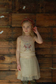 Girl and a Mouse - Nude Sachi Dress