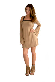 Union of Angels Taupe Zora Dress