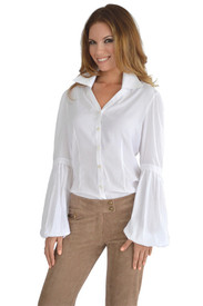 Union of Angels White Reagan Top