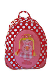 Room Seven Small Backpack - Farm Girl Red Dot