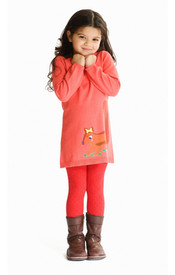 Room Seven Dress - Red Squirrel