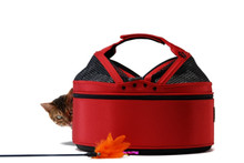 Sleepypod Strawberry Red Mobile Pet Bed