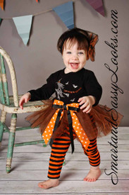Haute Baby Too Cute to Spook Tutu Set *Final Sale