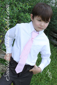 Boy's Cotton Candy Tie  (M)