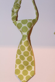 Boy's Green Dot Tie