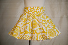 Persnickety Meg Skirt - Yellow Floral