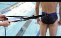 R & R Contrast Swim Belt: Resist and Release