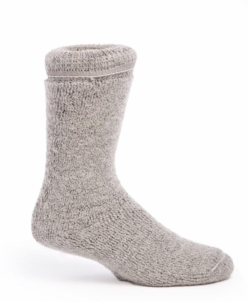 Toasty Toes Comfort Band - Ultimate Alpaca Socks Inside