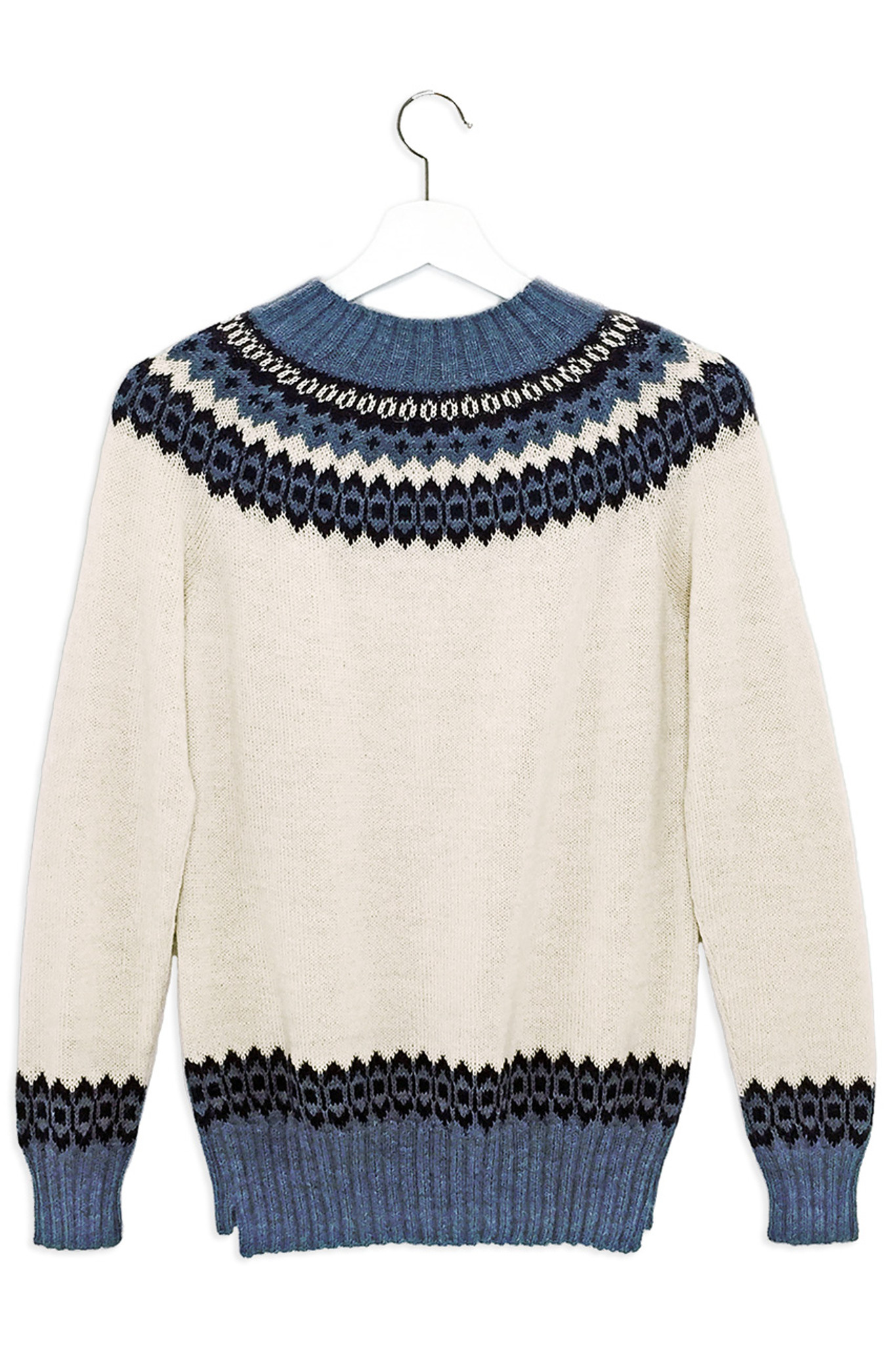 Chunky Navy Sweater