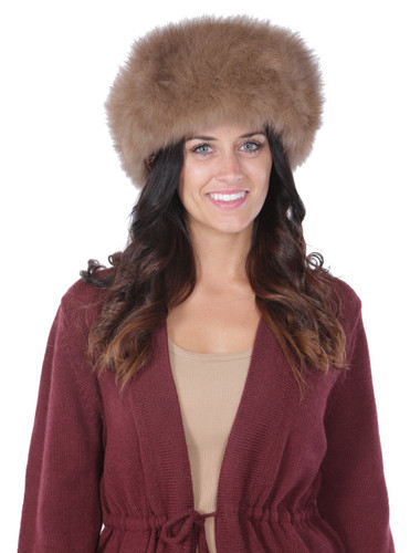 Alpaca Fur Hat - Russian Cossack style