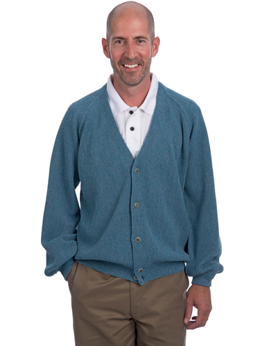 "Alpaca Golf Cardigan ""Retro Pro"" Professional - Many Bright Colors!"