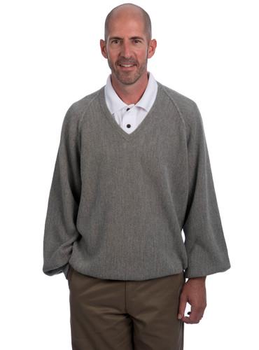 """Alpaca V-Neck """"Retro Pro"""" Professional Pullover"""