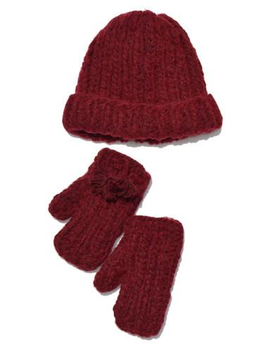 Chinook Chunky Alpaca & Wool Hat & Mittens