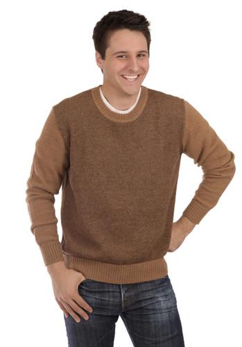 Men's Brad Round Neck Alpaca Sweater