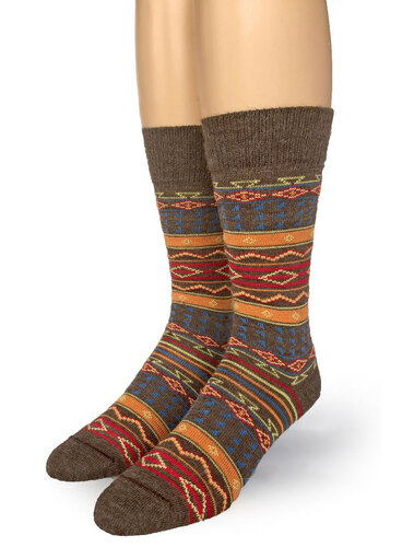 Tribal Alpaca Socks - *NEW*