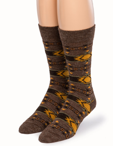 Indian Alpaca Socks Front