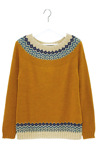 Modern Mayfair Fair Isle Pullover