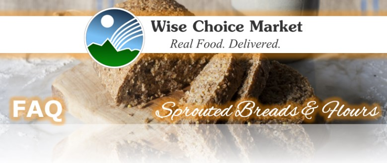 Sprouded Breads & Flours FAQ