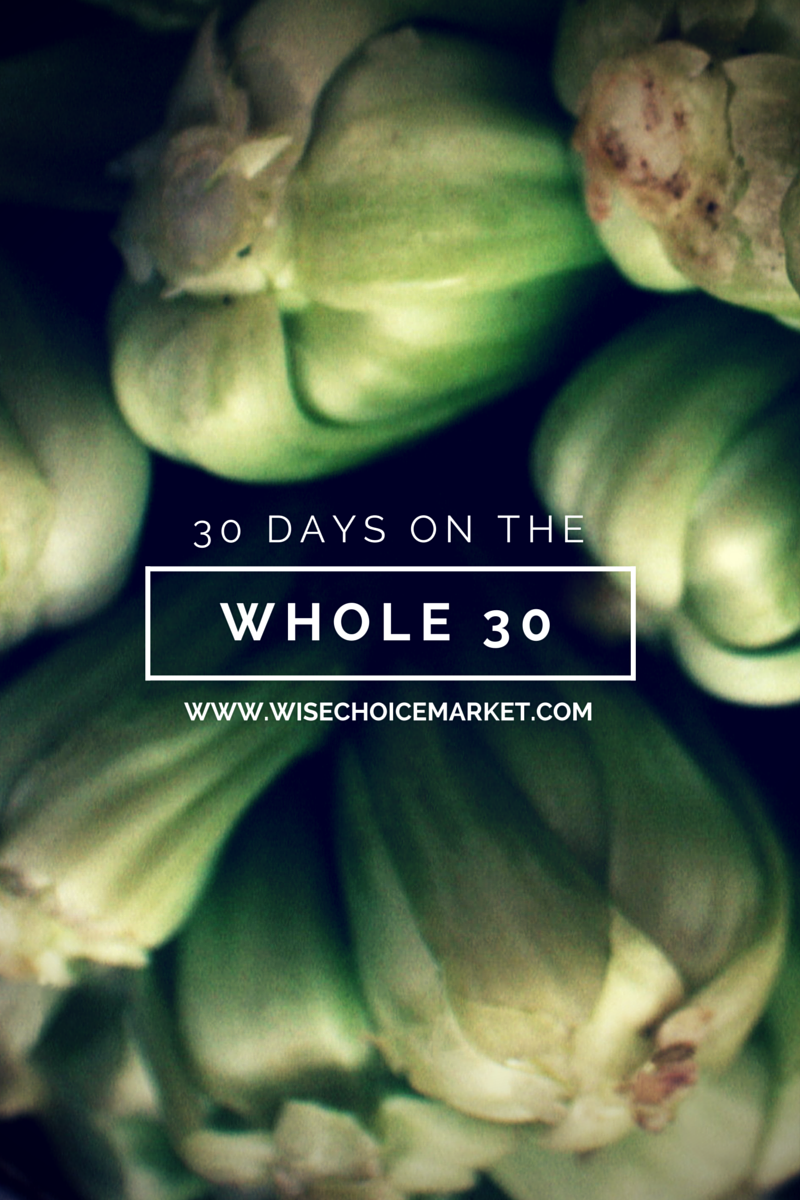 What it's like to spend 30 days on the Whole30