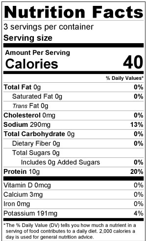 Beef Broth Nutrition Facts