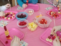 Birthday Party with Fruit instead of Candy
