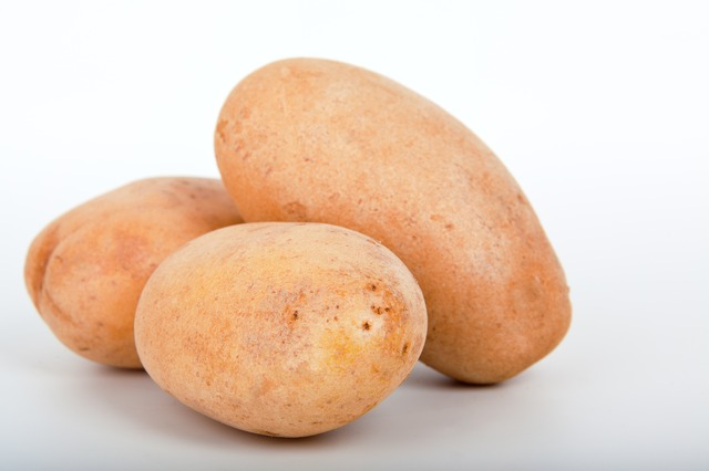 Potatoes are rich in Vitamin C.