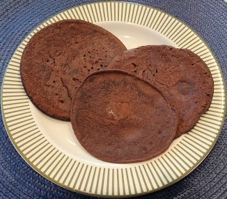 The Chocolicious Coconut Flour Pancake