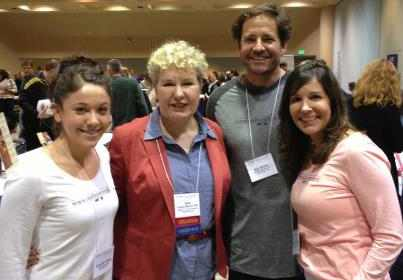 Reb & Sharon Brown & Alex Rains with Sally Fallon, president of the Weston-Price Foundation
