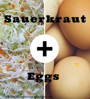 Sauerkraut and Eggs: A crazy-delicious (or just plain crazy) combination