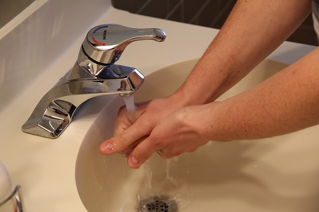 Hand washing is the first step to food safety