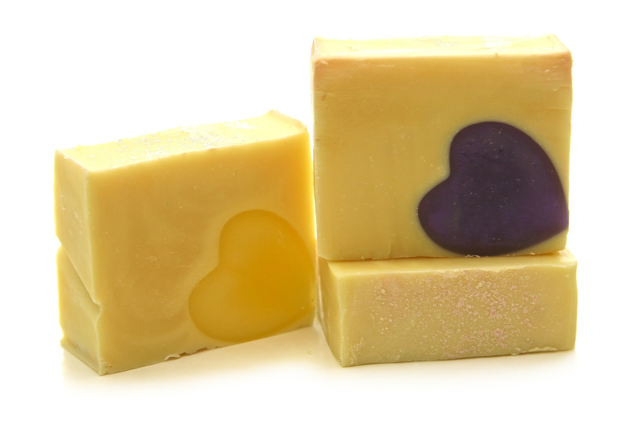 Lard soap is luxuriously moisturizing.