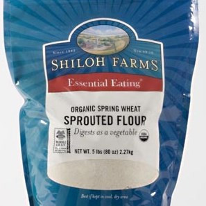 Organic Sprouted Spring Wheat Flour