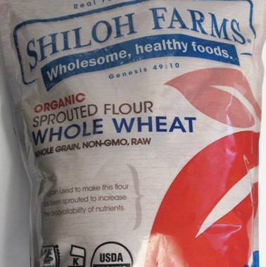 Organic Sprouted Whole Wheat Flour
