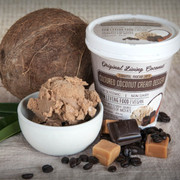 Dairy Free Cultured Coconut Ice Cream, Caramel Mocha Latte