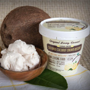 Dairy Free Cultured  Coconut Ice Cream, Lemon Creme
