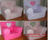 'I ♥ My' Ugly-Where Chair Applique'd - Regular Size