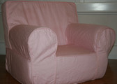 Ugly-Where Chair Slipcover - Regular Size - Free Personalization - Light Pink