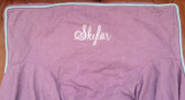 Premonogrammed Regular Size Ugly-Where Chair - Skylar -  L106 - Lavender Linen