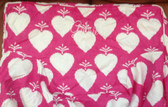 Premonogrammed Regular Size Ugly-Where Chair - Gabrielle -  L125 - Hot Pink Large Hearts